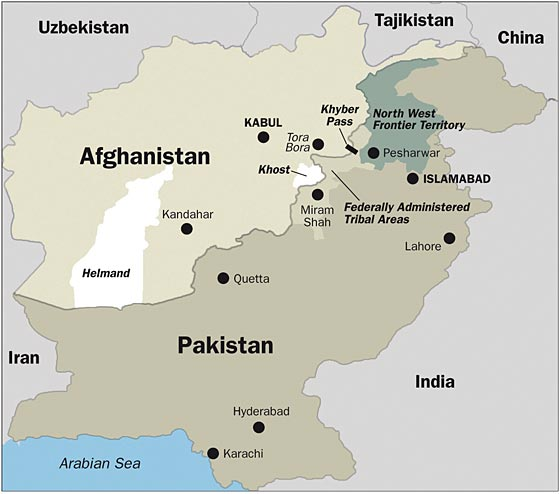 Map Of Afghanistan And Pakistan Afghanistan Pakistan map   Devpolicy Blog from the Development