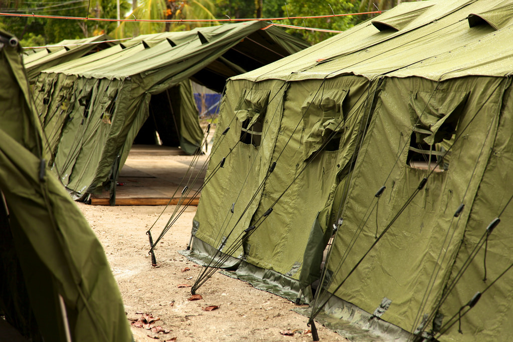Manus Island regional processing facility (image: Flickr/Global Panorama)