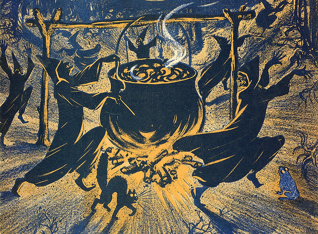 Chase of the witches (image: Flickr/M Ryan Taylor)
