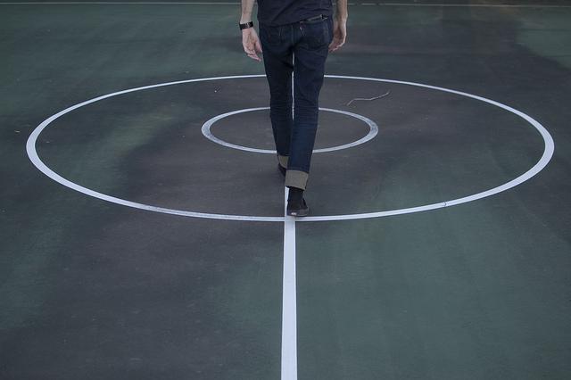 Walking in-line (image: Flickr/kylesteed)