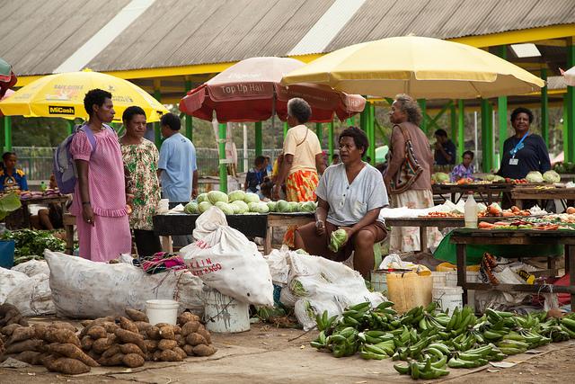 Gerehu Markets, Port Moresby (image: Flickr/DFAT/Ness Kerton)