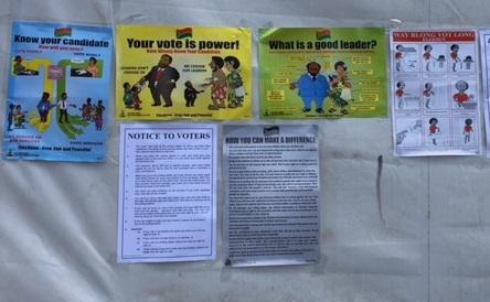 Vanuatu election notices