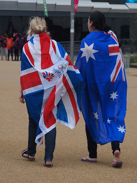 Australia Britain (Flickr/Kimb0lene)