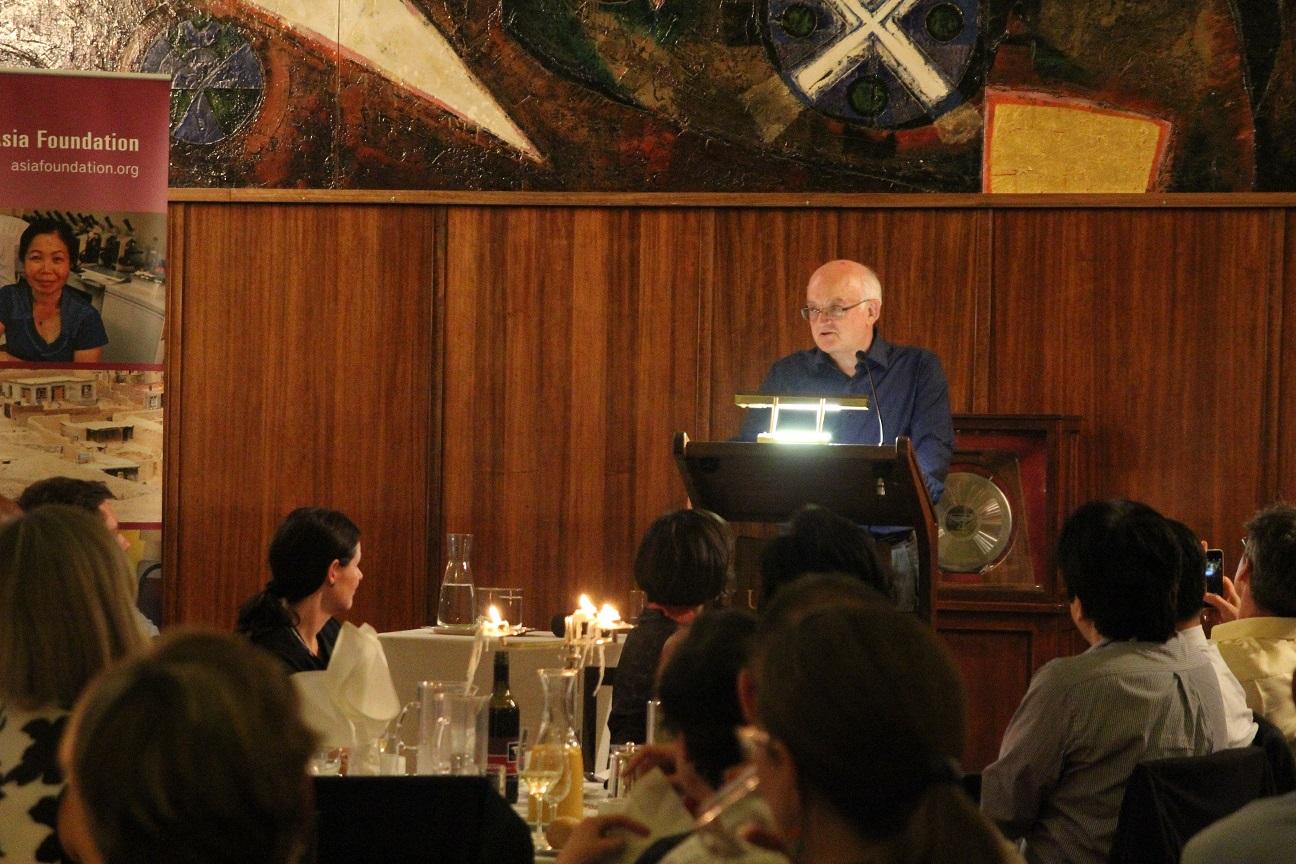Bob McMullan speaking at 2016 AAC