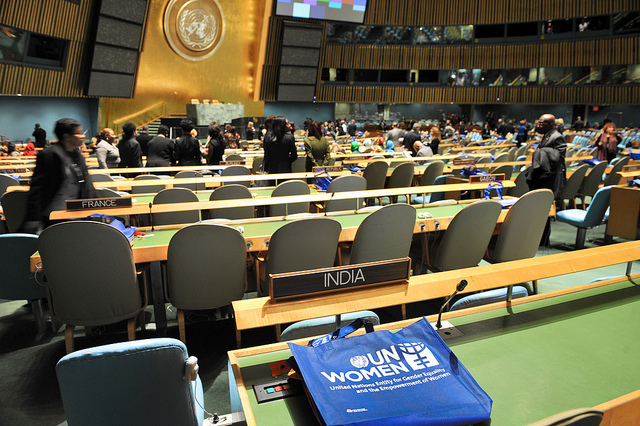 Opening of 57th Commission on the Status of Women, 2013 (Flickr/UN Women)