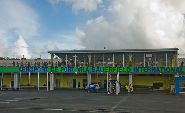 Port Vila Bauerfield airport (Flickr/Phillip Capper)