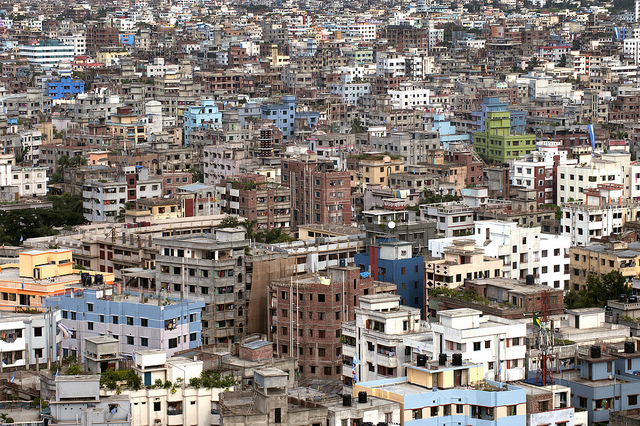 Urbanization in Asia - view of Dhaka, Bangladesh (Flickr/UN Photo, CC BY-NC-ND 2.0)