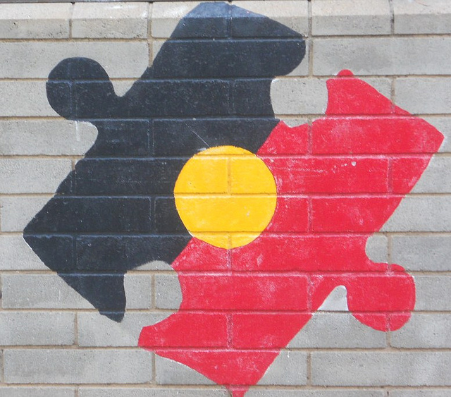 Aboriginal puzzle (Flickr/Michael Coghlan CC BY-SA 2.0)