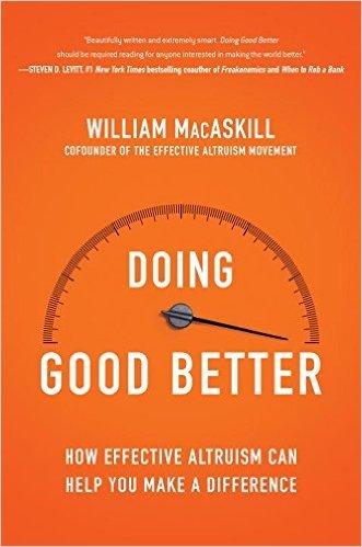cover of Doing Good Better