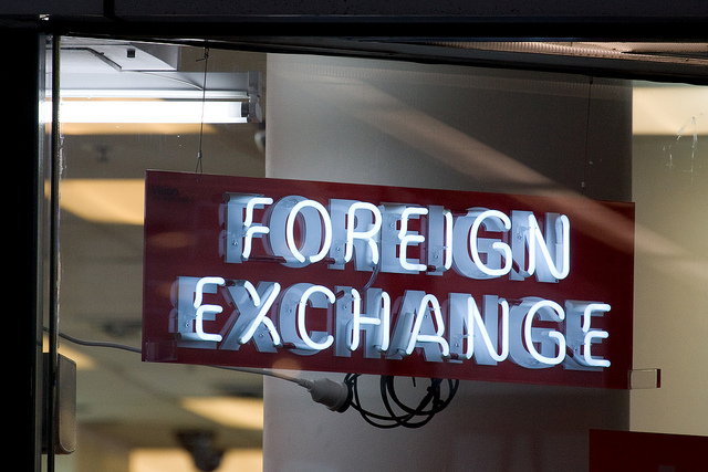 Foreign Exchange Sign Flickr Russtreet Cc By Sa 2 0