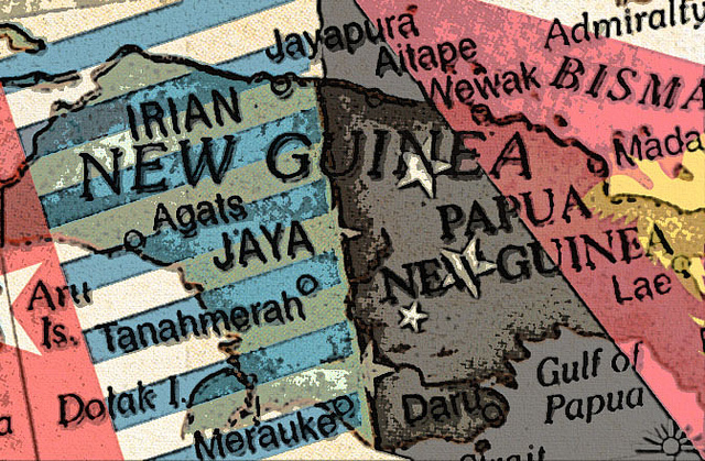 West Papua/PNG flagmap (Flickr/AK Rockefeller CC BY-SA 2.0)