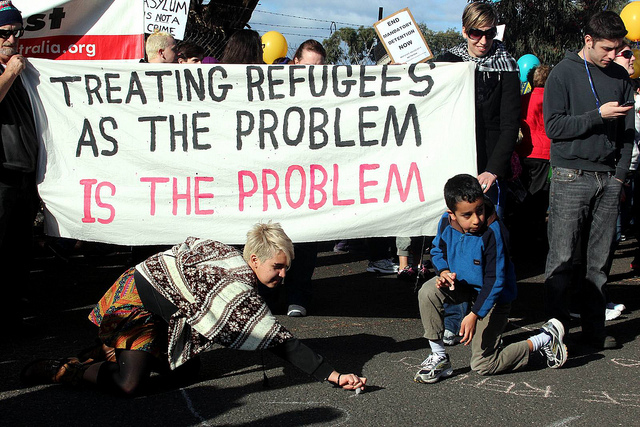 Refugee Rights Protest at Broadmeadows, Melbourne, 9 July 2011 (Flickr/Takver CC BY-SA 2.0)