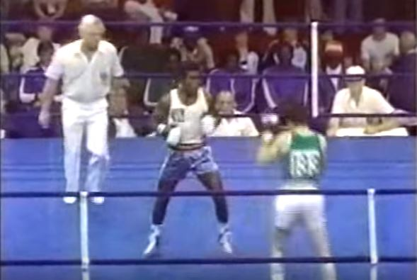 Screenshot - Tumat Sogolik, 1978 Commonwealth Games gold medal match (Youtube/Eamon Mcauley)