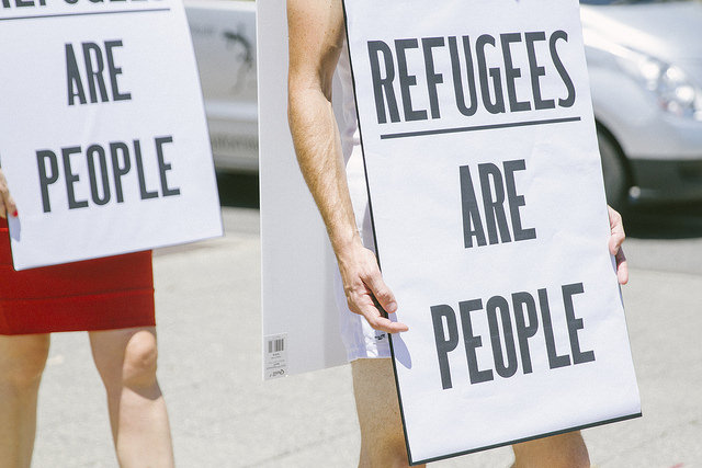 #RefugeesArePeople Perth walk, 28 Jan 2015 (Flickr/Love Makes a Way/Louise Coghill CC BY-SA 2.0)