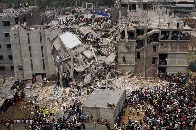 Dhaka Savar building collapse (Flickr/rijans CC BY-NC 2.0)