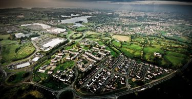 Craigavon, Northern Ireland from the air (Tim Proctor/Flickr CC BY-NC 2.0)