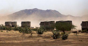 WFP trucks, North Darfur (Albert Gonzalez Farran/UNAMID/Flickr CC BY-NC-ND 2.0)
