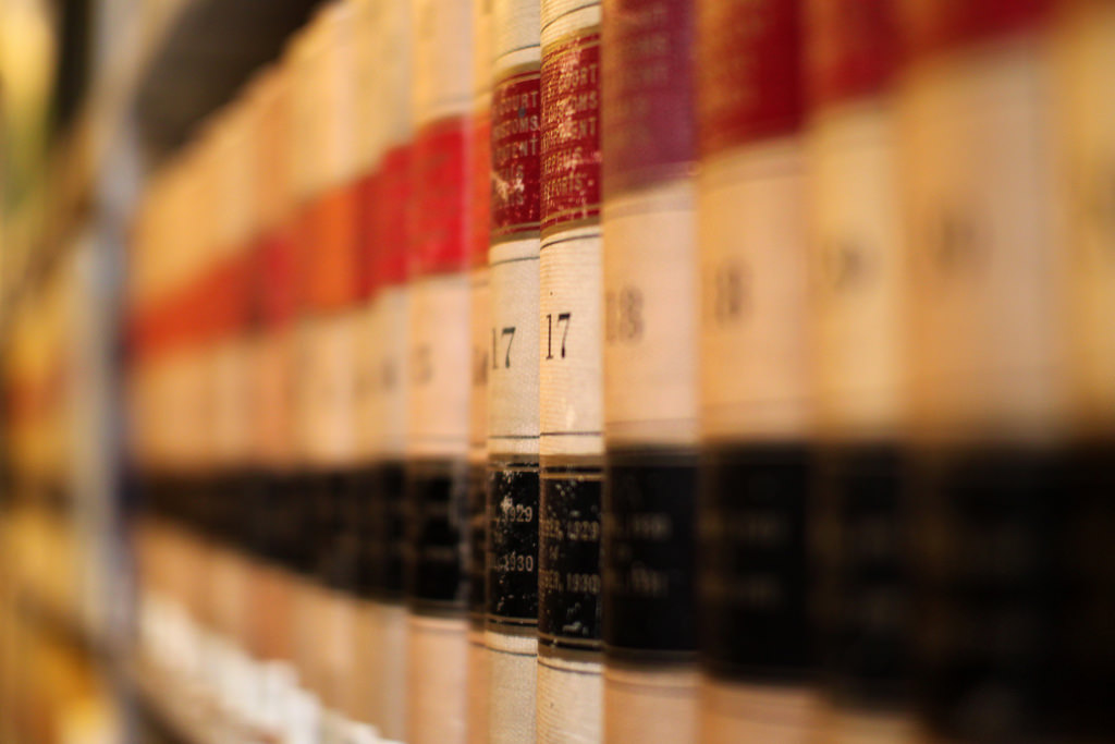 Law books (Mr TinDC/Flickr CC BY-NC-ND 2 0) - Devpolicy Blog