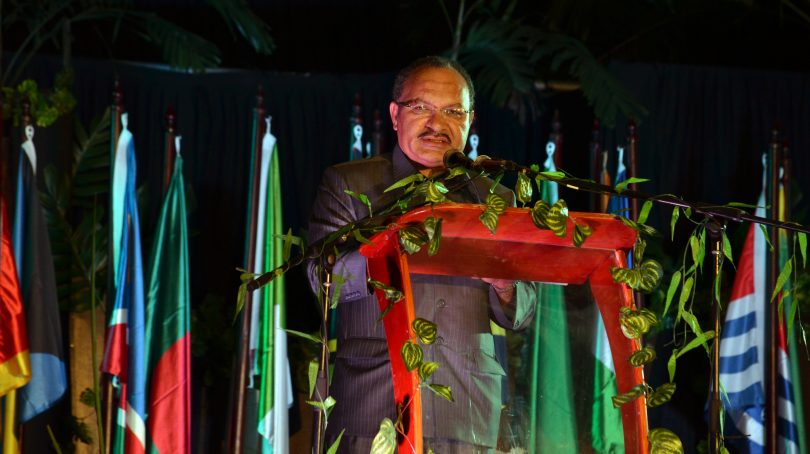 Peter O'Neill, Port Moresby, 2013 (Commonwealth Secretariat/Flickr CC BY-NC-ND 2.0)