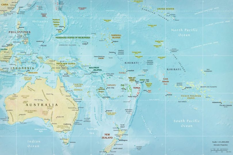 Map of Oceania (Nathan Hughes Hamilton/Flickr CC BY 2.0)