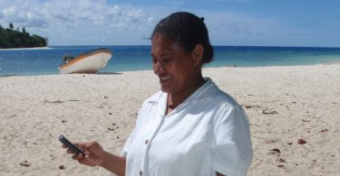 Kitava health centre nurse, Milne Bay Province, 2014 (image: Amanda Watson)