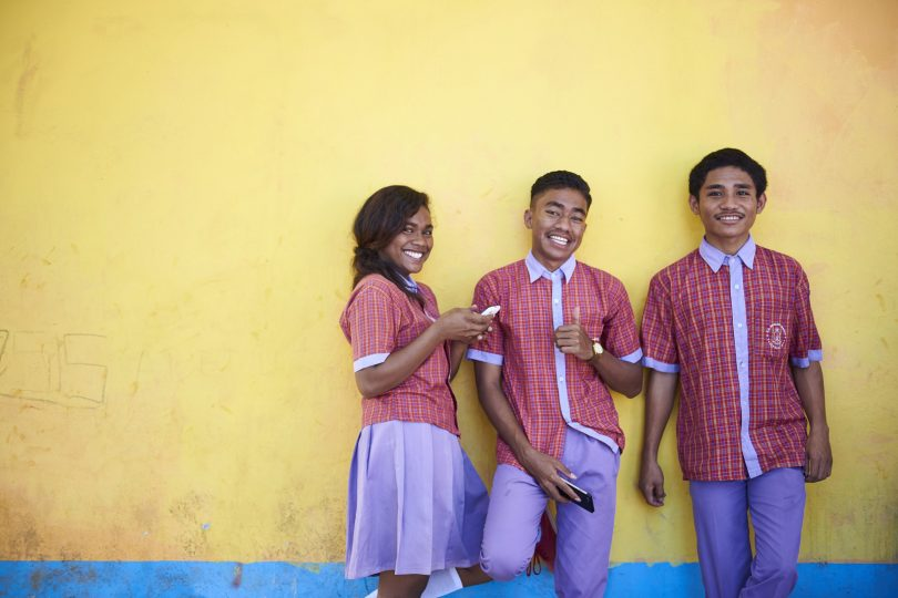 Young Timorese (image courtesy Oaktree)
