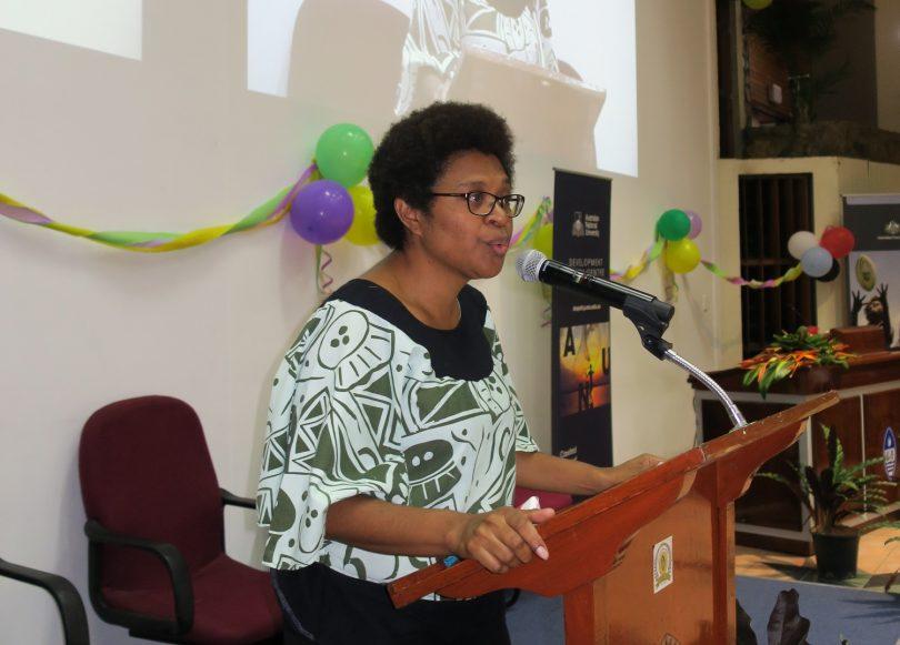 Fiona Hukula at 2017 PNG Update