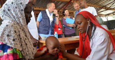 MSF outpatient nutrition centre, Tibiri, Niger (Hama Boureima/EC/ECHO/Flickr CC BY-NC-ND 2.0)