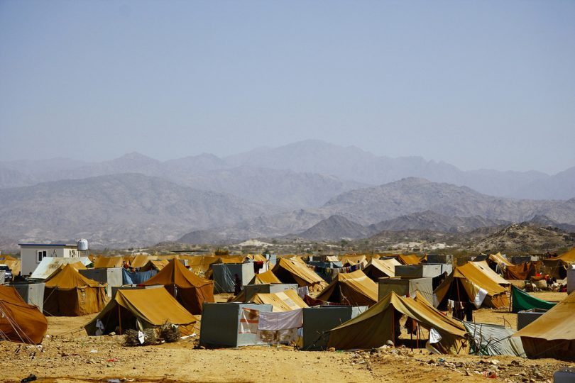 Mazrak Camp, Yemen (Annasofie Flamand/IRIN/Flickr CC BY-NC-ND 2.0)
