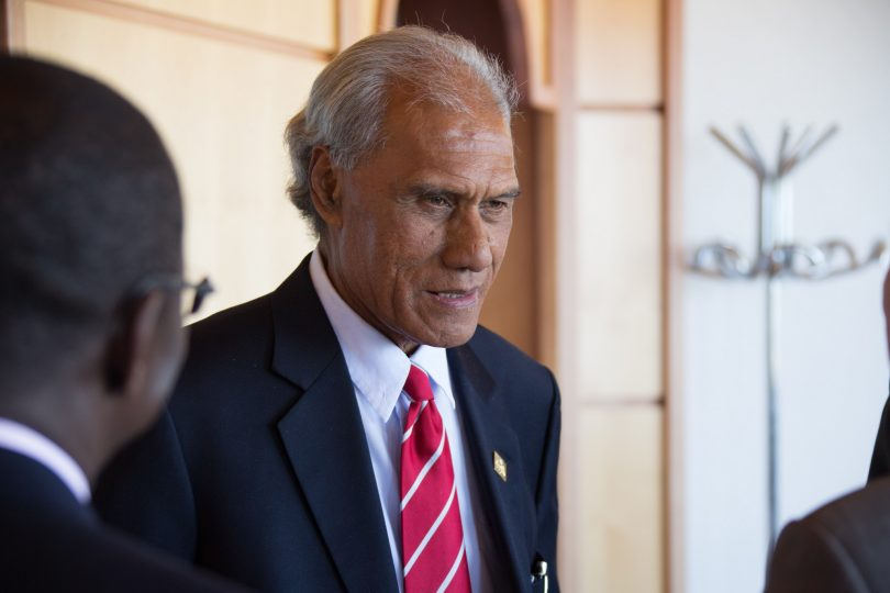 'Akilisi Phovia, Prime Minister of Tonga (ITU Pictures/Flickr/CC BY 2.0)