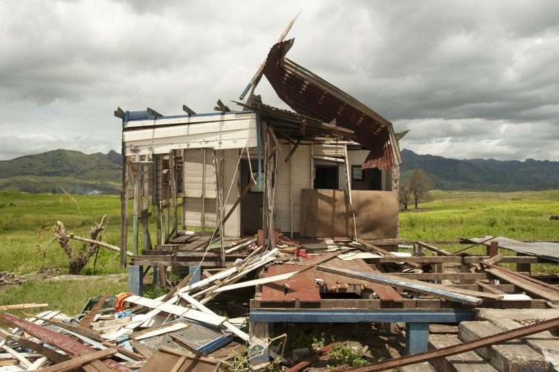 Some of the destruction wrought by Topical Cyclone Winston along Kings Road on Viti Levu, Fiji (Flickr/UN Women/Murray Lloyd/CC BY-NC-ND 2.0)