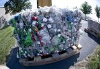 Bales of plastic heading to a recycling facility (recycleharmony/Flickr/CC BY-NC-ND 2.0)