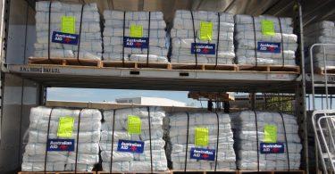 Australian aid supplies (DFAT/Flickr/CC BY 2.0)