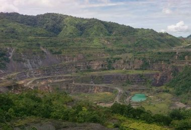 Panguna Mine (Credit: Bougainville Copper Ltd)