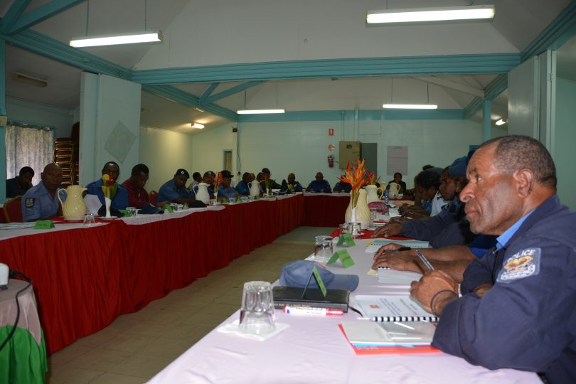 Training in Mt Hagen (Credit: Kate Saxton)