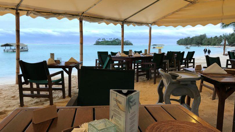 A restaurant at Muri Lagoon, Rarotonga, Cook Islands (Credit: Denis Tolkach)