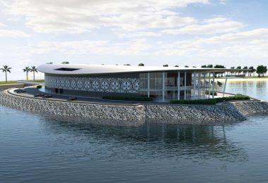 An artist's impression of PNG's APEC Haus (Credit: Conrad Gargett)