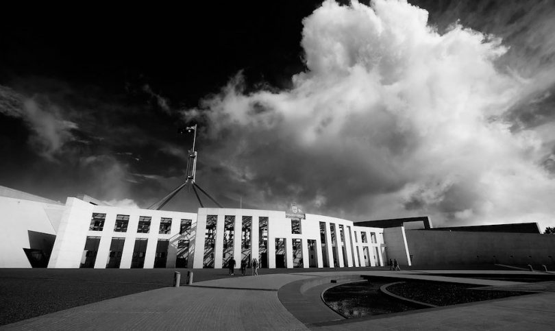 Parliament House, Canberra (Christopher Chan/Flickr/CC BY-NC-ND 2.0)