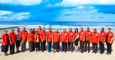 2018 Pacific Islands Forum leaders meeting group photo (Credit: PIFS)