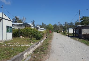 Houses in the Oma Boku MDG settlement (Credit: Pyone Myat Thu)