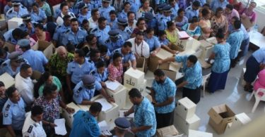 On election day, Samoa 2016 (Credit: Iniini Samoa)