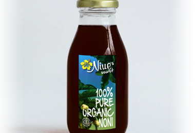 Noni juice, an export of Niue (Credit: G&A)