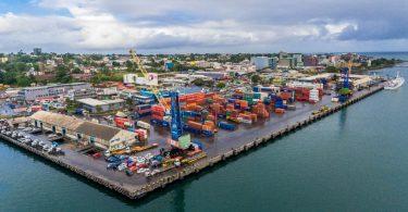 The port of Suva (Credit: Fiji Ports)
