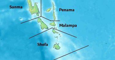 Provinces of Vanuatu (Credit: Wikipedia)