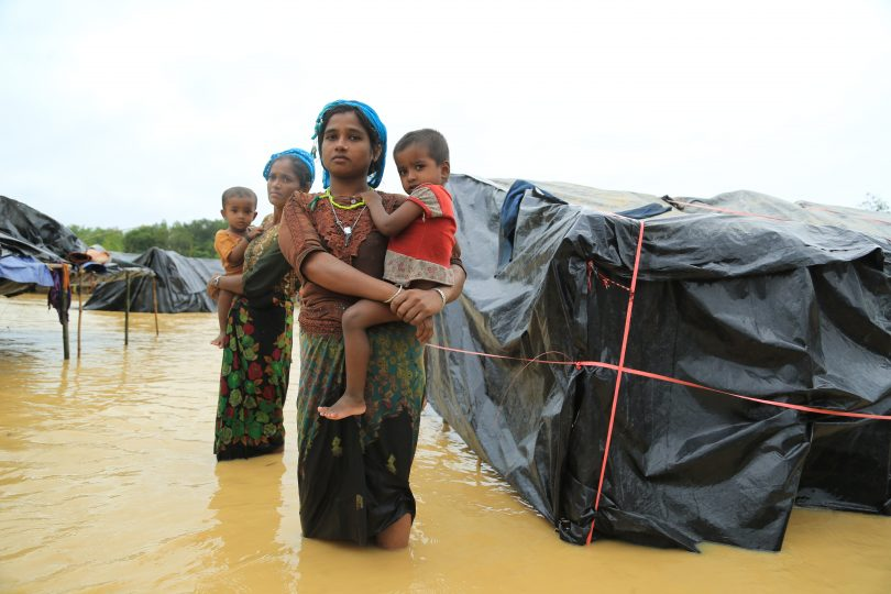 Cox's Bazaar refugee settlement, Bangladesh (Credit: World Vision)