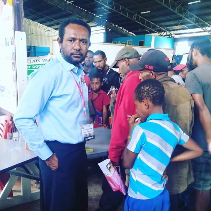 Martyn Namorong in his Fijian sulu at a party in Goroka, PNG (Credit: Martyn Namorong)