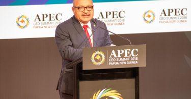 PNG Prime Minister Peter O'Neill (Credit: APEC Secretariat)